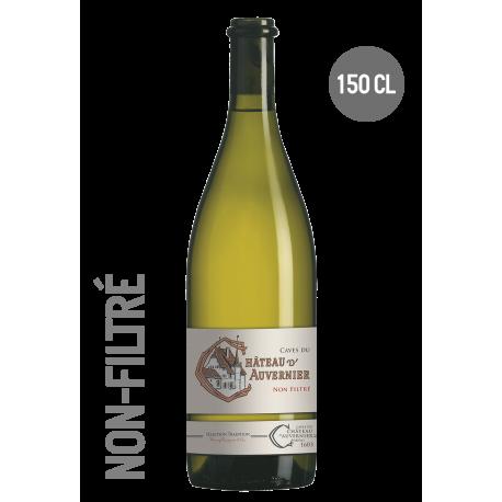 CHÂTEAU D'AUVERNIER Blanc Non-Filtré AOC Neuchâtel 150cl