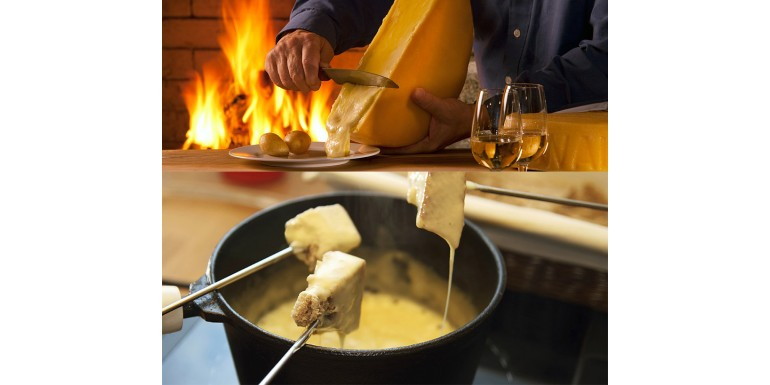 Swiss Wines for Cheese Fondue and Raclette