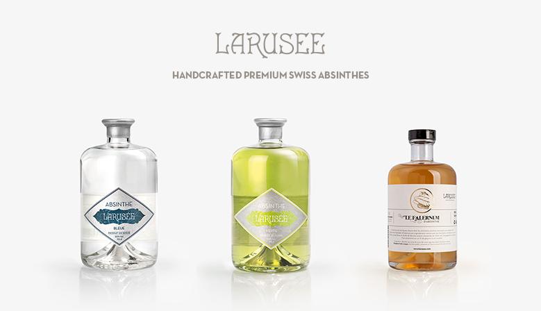 LARUSÉE | Handcrafted Premium Swiss Absinthe's